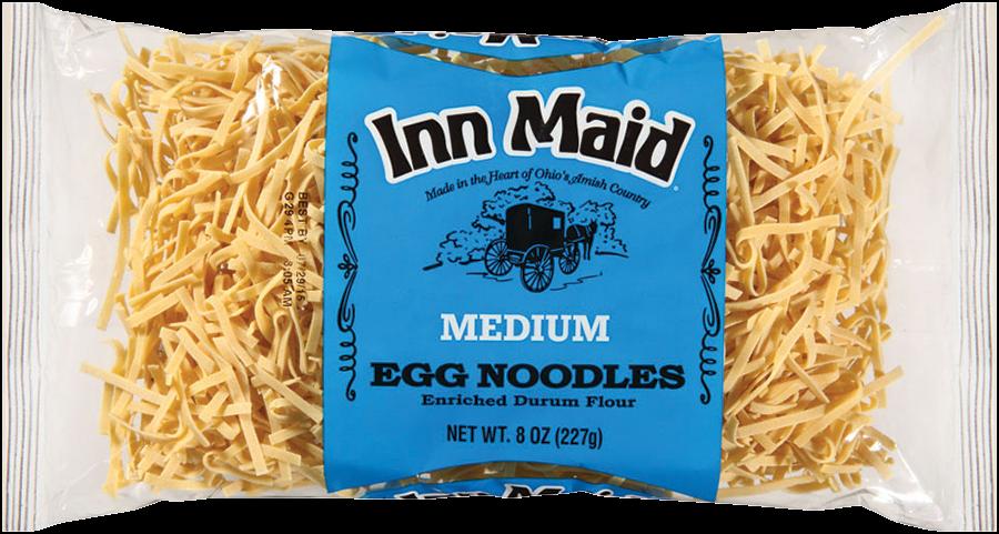 MediumEggNoodles - Inn Maid® Medium Egg Noodles