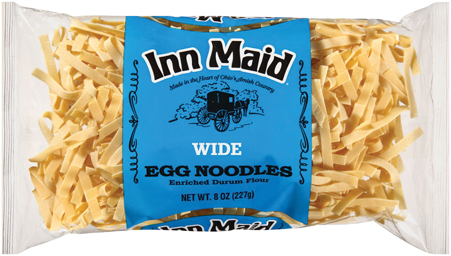 WideEggNoodles - Inn Maid® Wide Egg Noodles